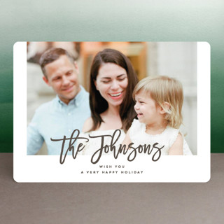 Make it Personal Holiday Photo Cards