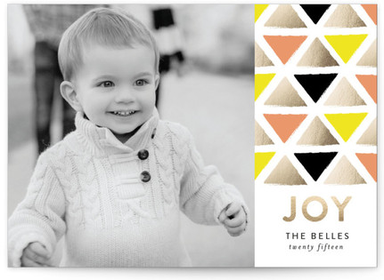 Mosaic Holiday Photo Cards