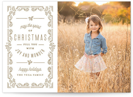 Christmas Dream Holiday Photo Cards