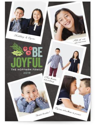 Family Snapshots Holiday Photo Cards