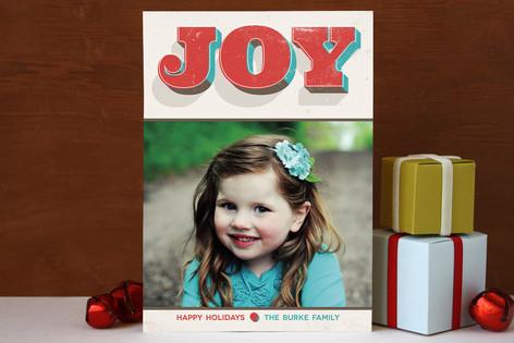 Joyful Colors Holiday Photo Cards