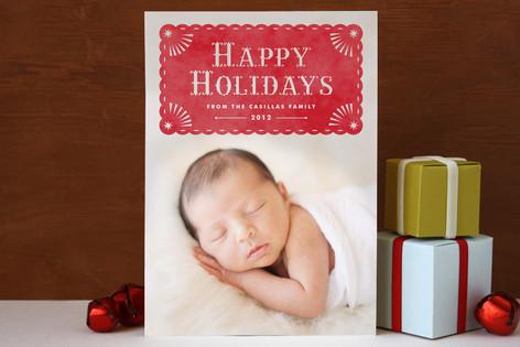 Papel Navidad Holiday Photo Cards