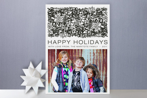 Mission Street Holiday Photo Cards