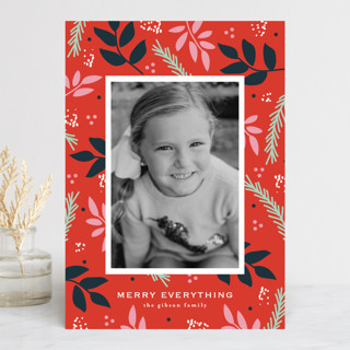 notably merry Holiday Photo Cards