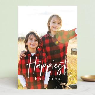 canoli Holiday Photo Cards