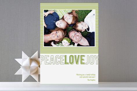 Modern Love Holiday Photo Cards