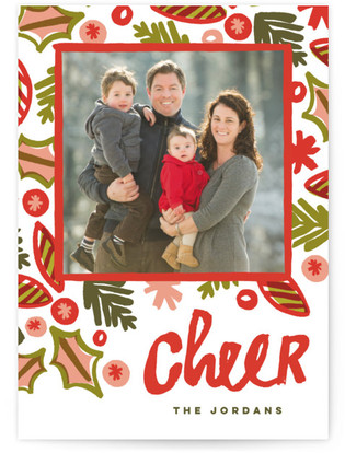 Crazy Festive Holiday Photo Cards