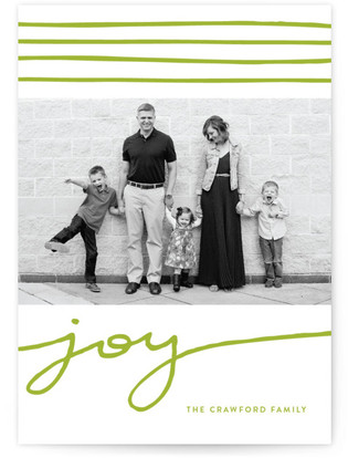 Wrap Around Joy Holiday Photo Cards