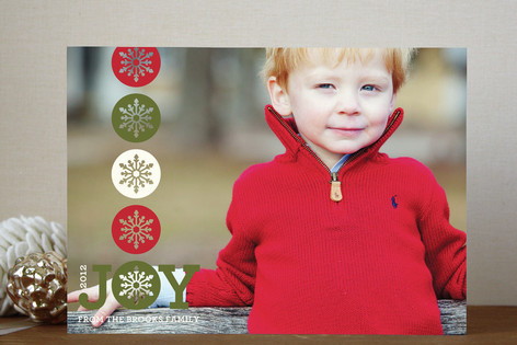 Sharing Joy Holiday Photo Cards