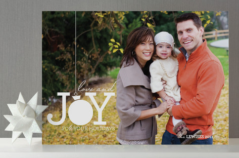 Ball of Joy Holiday Photo Cards