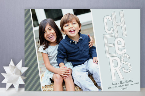 Happy Cheers Holiday Photo Cards