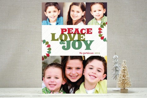 Bright + Fun Holiday Photo Cards