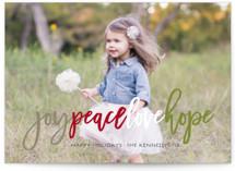 Colorful Joy Peace Love Hope