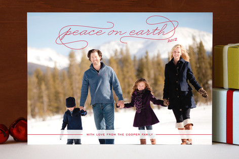 Gallery Peace Holiday Photo Cards