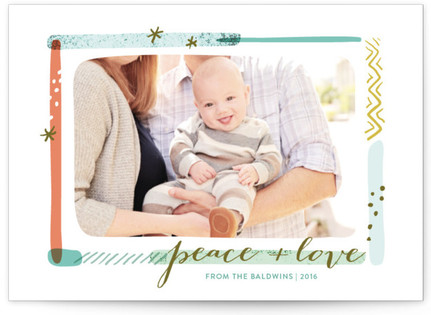 Merry Palette Holiday Photo Cards