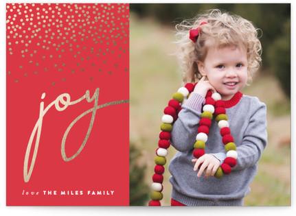 Radiant Joy Holiday Photo Cards