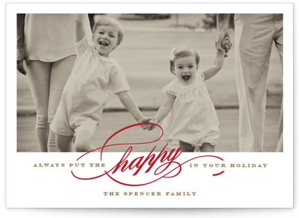 HAPPY Holiday Photo Cards