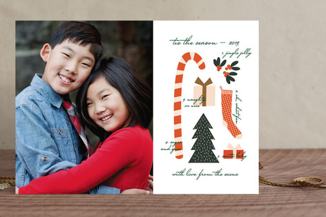 Christmas Collage Holiday Photo Cards