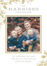 Heart Be Light Holiday Photo Cards