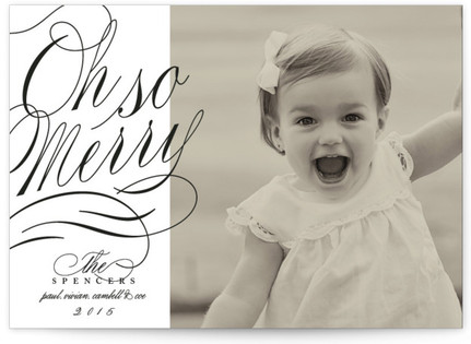 Merriment Holiday Photo Cards