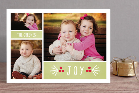 Berry Joyous Holiday Photo Cards