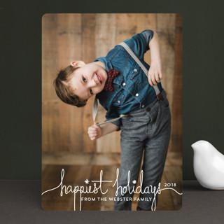Holiday Revelry Holiday Photo Cards