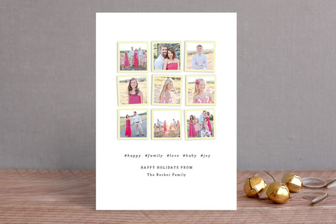 Insta-book Holiday Photo Cards