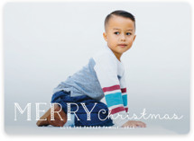 Candy Cane Merry Holiday Photo Cards