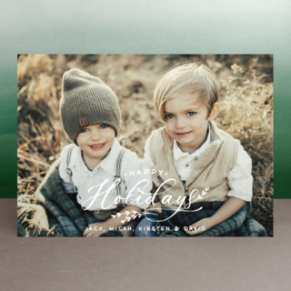 All Chalked Up Holiday Photo Cards