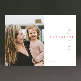 Serenade Holiday Photo Cards