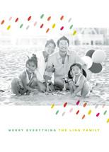 Dashing Dots Holiday Photo Cards