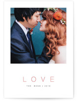 Our Love Holiday Photo Cards