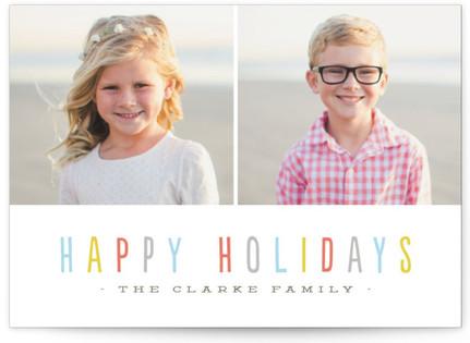 Bombolone Holiday Photo Cards