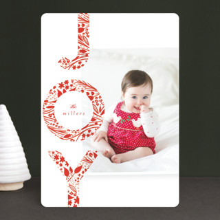 Big Bright Joy Holiday Photo Cards