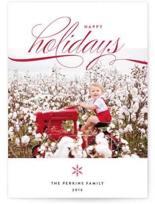 Tailor Made Holiday Photo Cards