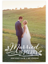 Married and Merry by Hooray Creative