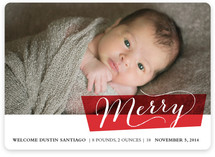 Block Blessed Holiday Photo Cards