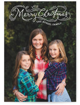 Whirlwind Christmas Holiday Photo Cards