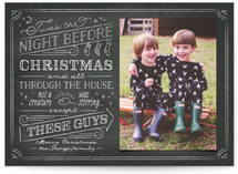The Night Before Holiday Photo Cards