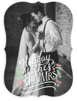 Mr. & Mrs. Holiday Photo Cards