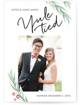 Yule Tied Holiday Photo Cards