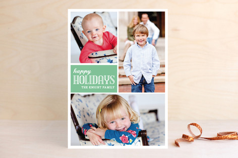 Simply Family Holiday Photo Cards