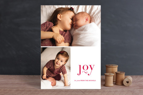 Lifted Joy Holiday Photo Cards