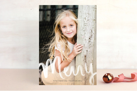 All Aglow Holiday Photo Cards