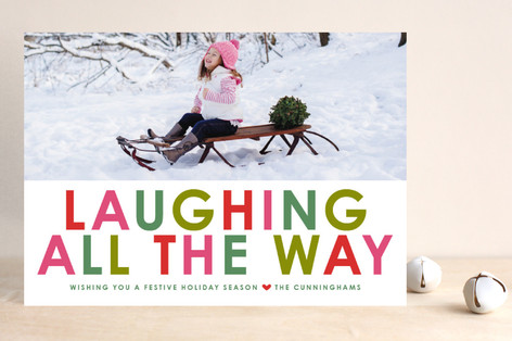 Winter Brights Holiday Photo Cards