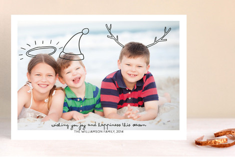 Family Fun Holiday Photo Cards