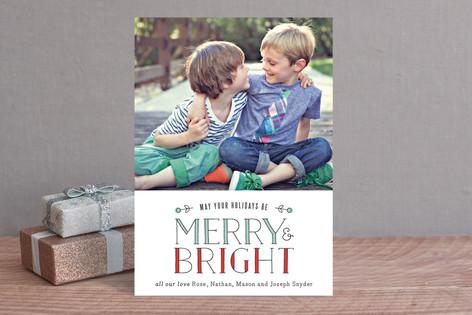 Light Bright Holiday Photo Cards