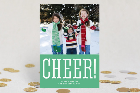 All Cheer Holiday Photo Cards