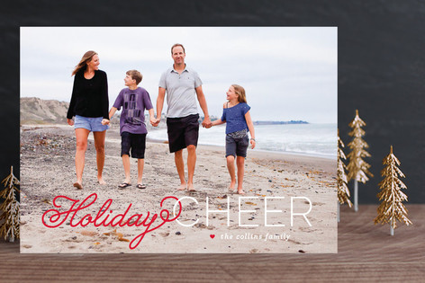 Christmas Cheer Holiday Photo Cards