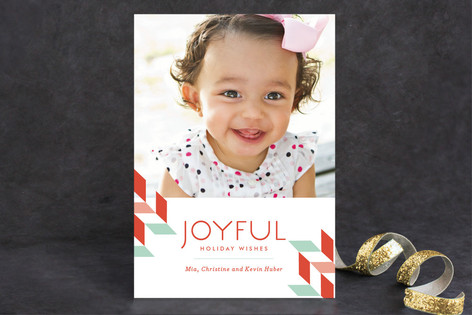 Joyful Days Holiday Photo Cards